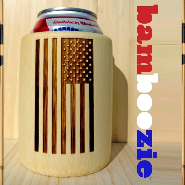 """We hold these truths to be self evident that all men are created equal...."" Too bad we can't say the same for #Koozies. 'Merica, meet the #Bamboozie, the world's first hand-shaped, petroleum-free, beverage drinking device.  Learn more about how you..."