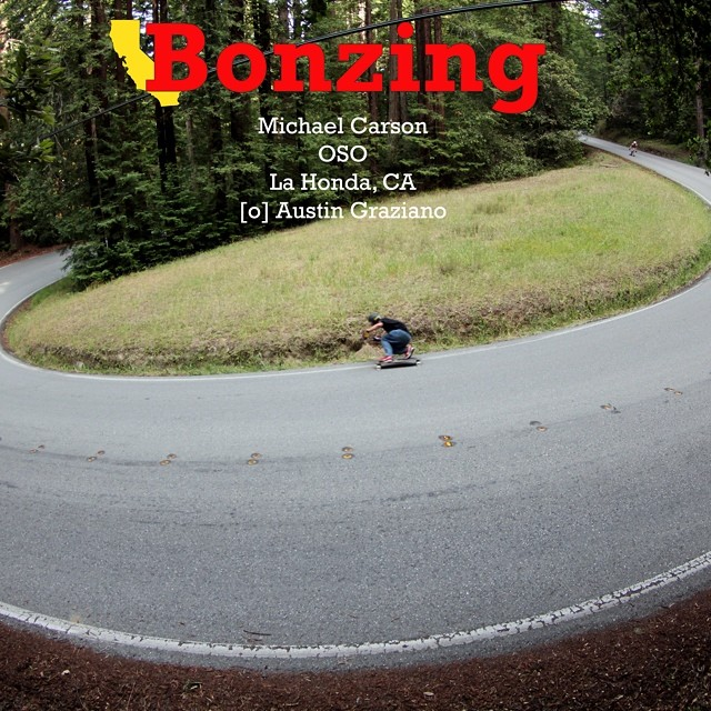 Northern California. Michael Carson charging. This is Bonzing!  Download this high resolution photograph by following the link in our bio.  #michaelcarson #northerncalifornia #wallpaperwednesday #bonzing #skateboard #photography