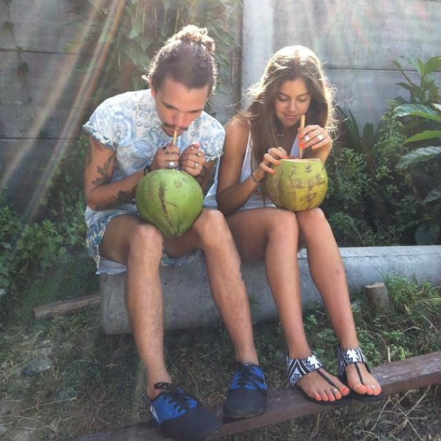 Coco break w/ @mimielashiry and @jamessutton_freelance #BTS #indoshoot #SS15 #pathways15 #pthwys