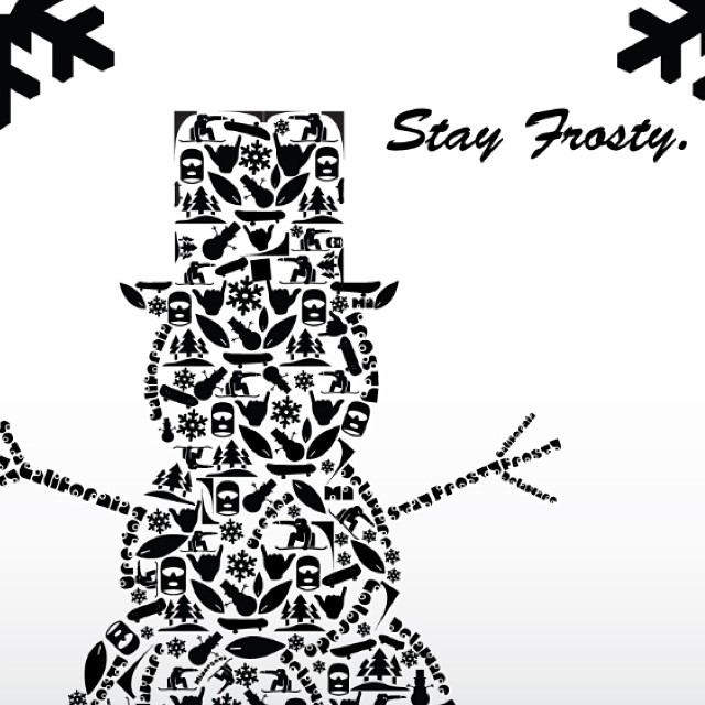 Poster by @drockyoursocks now on sale through www.frostyheadwear.com❄️#frostyheadwear #art #stayfrosty