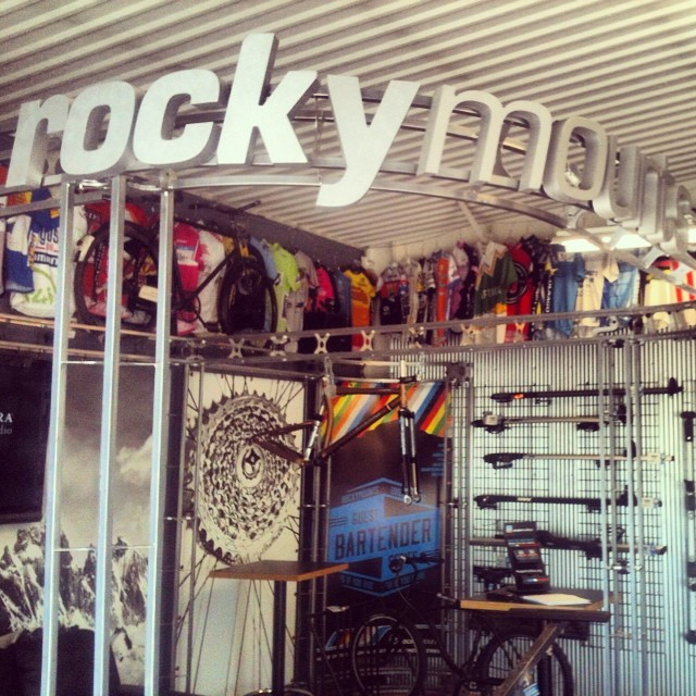 If you need vehicle racks.. Go visit @rockymounts in #boulder. Ergonomic, well built.. Sweet color choices.