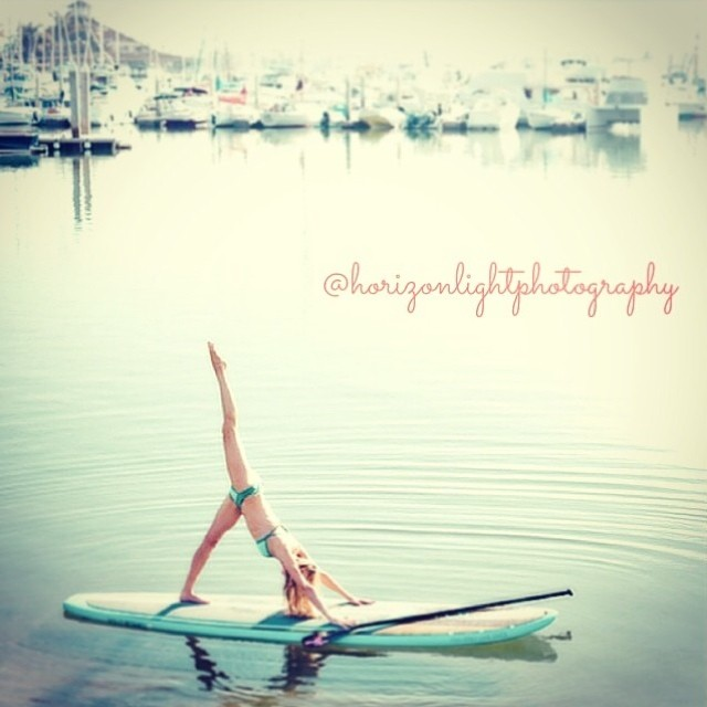 Regram from @horizonlightphotography of yoga ambassador @kathrynmccann