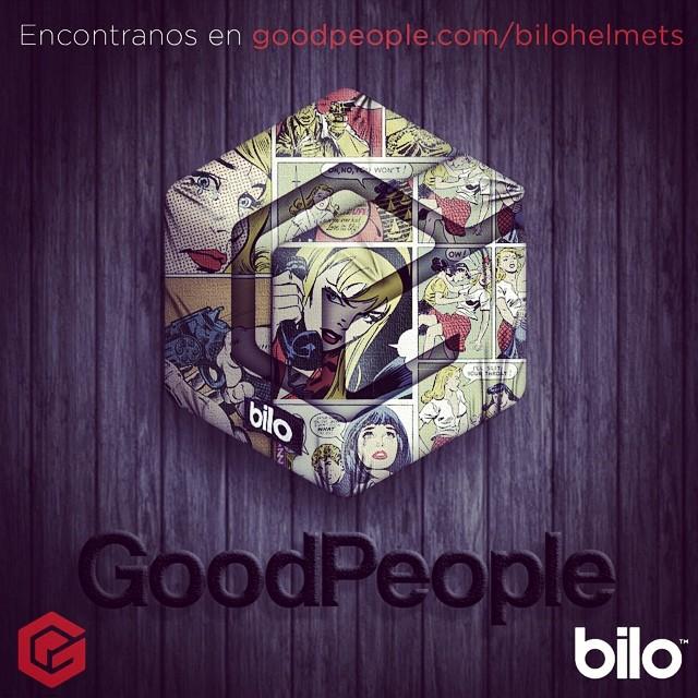 Seguimos sumando lugares!! Ya nos pueden encontrar en www.goodpeople.com/bilohelmets  @goodpeoplearg #goodpeople #freelife #bilohelmets #helmets #extreme #bilo  Flyer design by: @arielbonadeo