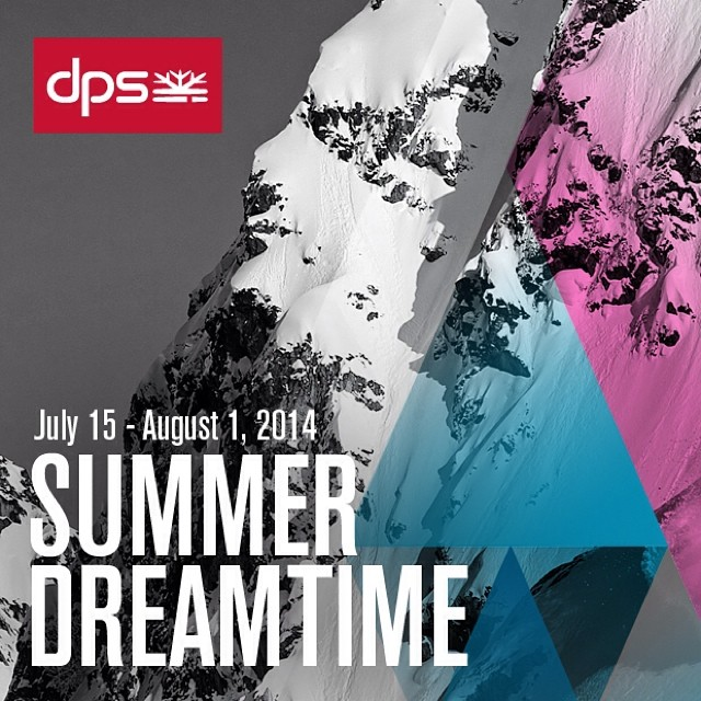 Mark your calendars: #dpsdreamtime runs July 15 to August 1. Dreamtime is the smartest time to buy 14/15 #skis. Get the year's only discount on all shapes; buy rare Special Edition skis, and limited-run creations from the #Powderworks laboratory....