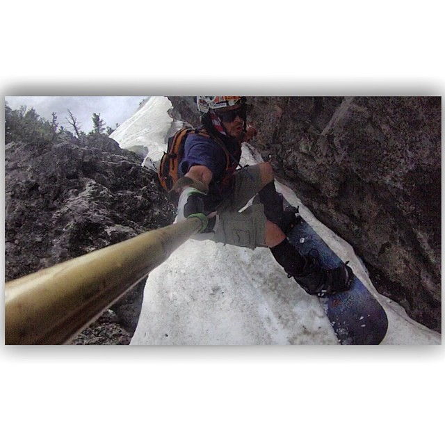 "While filming last weekend at Bloomington Lake, Idaho, Justin Dewall captures a particularly intense moment using his Panda POV ""Camera Wand"". This has got to be one of the dirtiest summer lines we've ever witnessed! #TRIBEUP Justin!  @justindewall..."
