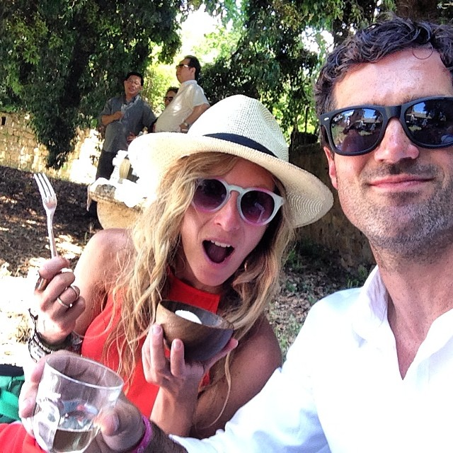It's only on special occasions that we eat #mozzarella out of a bowl with a spoon weeeee #picnickinginpienza #picnic #pienza #tuscany #destinationwedding #wanderlust #travel #exploremore #nomnomnom #foodieheaven