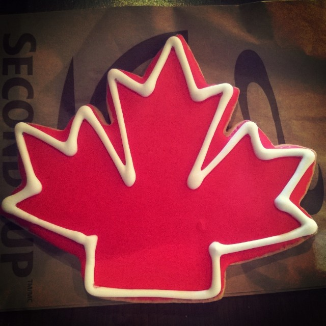 Le canadian cookie. Niom niom.