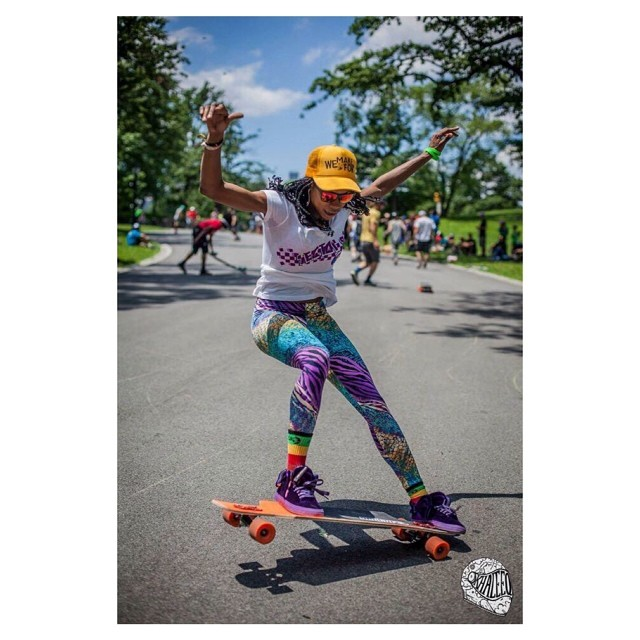 @camibeast. What else? @khaleeqovision photo #longboardgirlscrew #girlswhoshred #dressforsuccess