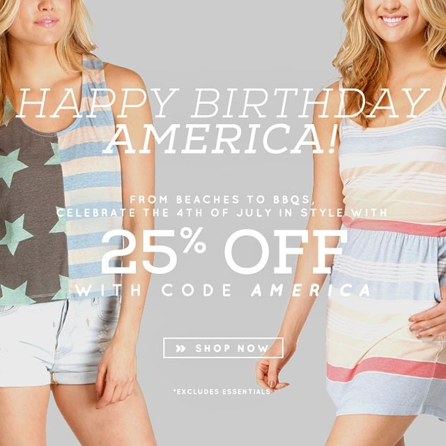 This is happening right now. Start shopping! #4thofjuly #independence #sale #shop #newarrivals #holidayweekend