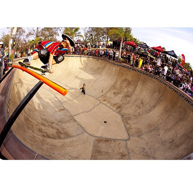 Regram @plgsk8: Crail slide at the boo-b-q this past weekend! Thanks @buckylasek !