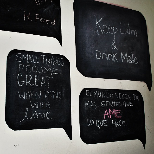 #KeepCalm & Drink Mate #inspiration #paezinspire #inspirationoftheday #quote