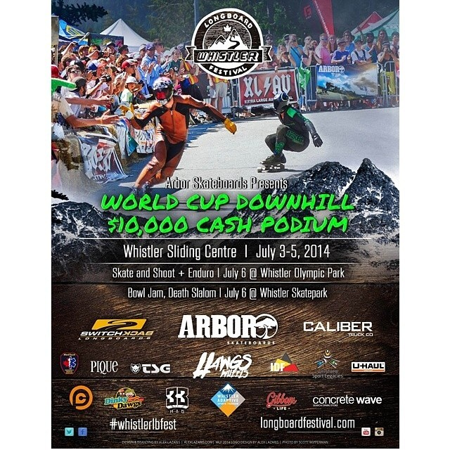 Hell yes it's finally time! Couldn't be more stoked to be the main truck sponsor for the Whistler Fest! #whistlerlbfest