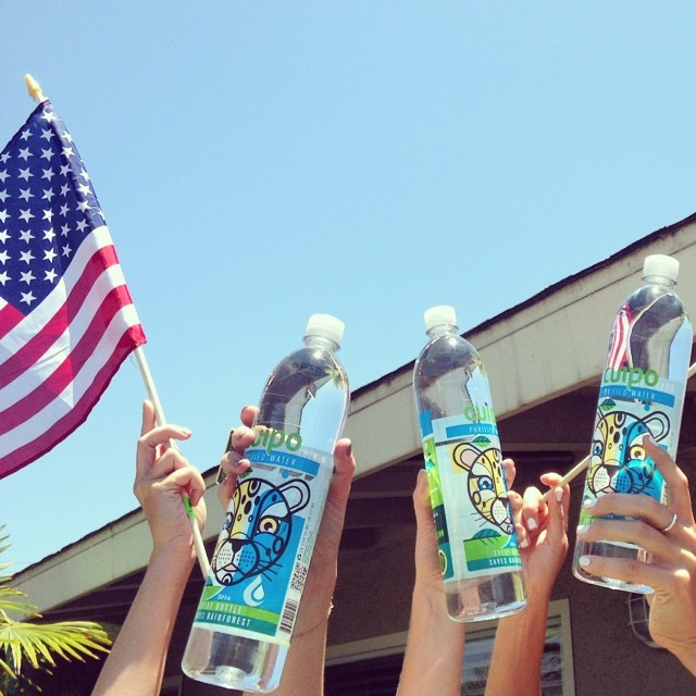 Hands up for America!