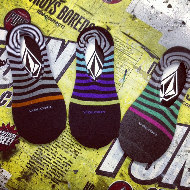 @volcomargentina No Show Stripe Socks #ss14 #volcom #socks