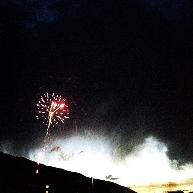 We hope everyone had a great 4th . Thanks for the fireworks display @pcski!  #plantyoursoul