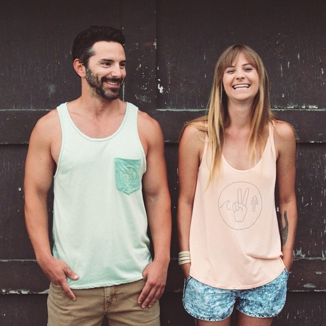 Be Kind to the Sea, the Land, and the People. We are all connected •• Our new men's and women's Unity Tanks are up in our online shop