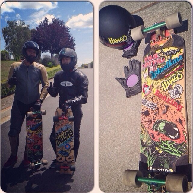 Who is out Bonzing with friends?  Team rider Michael Carson--@mcarsonlikescats is.  #michaelcarson #bonzing #oso @slidersky