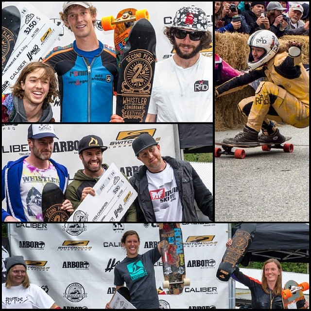 The Whistler Longboard Festival is a wrap! Elena sweeps the womens class, Niko wins the masters and Ben Dub takes 3rd in the open class and we made a few hundred lattes, americanos and espresso shots for some caffeine deprived racers.  Congrats to...