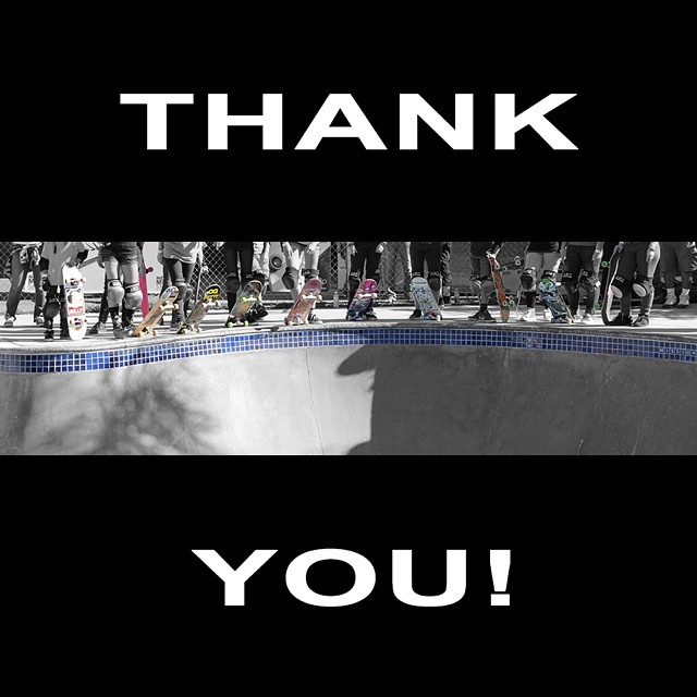 Quick shout out to our fans - thank you for the support, we appreciate it so much! Hope you're having a fun weekend! #skateboarding #skateboard #skate #skatelife #thankyouskateboarding
