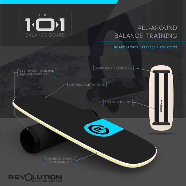 Our 101#balanceboard is an all around ripper! If you are into boardsports, fitness or athletics you are going to want to check it out for sure.