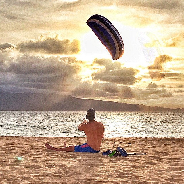 Visualize the goal and manifest its success!!! @naish_kiteboarding #choosepositivitynow.com