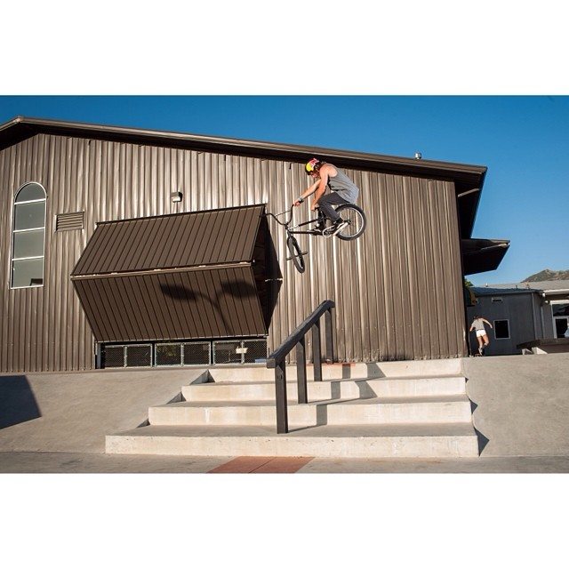 @tylerfernengel gettin' steezy at @woodwardwest. Photo by