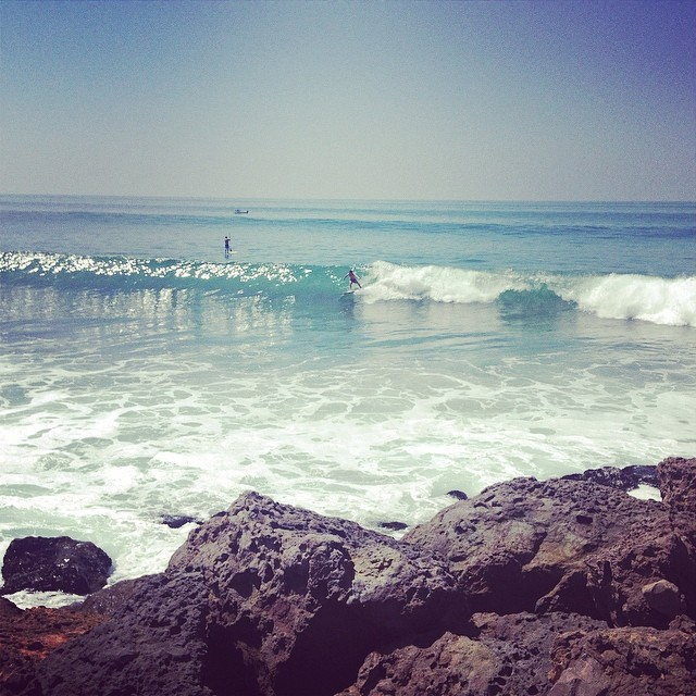 Sometimes you gotta take a #surf day... Specially when there's only 2 guys out?! #malibu #secretspot #surfallday -- Winners from our #odinato10k will be announced shortly! Hope you all had a great weekend! @thesurfchannel made me do it!