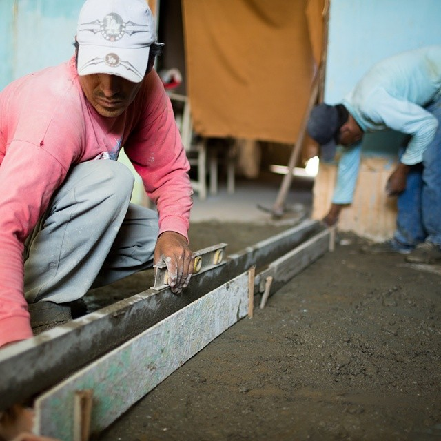 WAVES Environmental Health programs create a health supportive environment through the installation of concrete floors in the homes of families with dirt ones via a micro loan. Contributions from volunteers cover half, the family pays the other half...