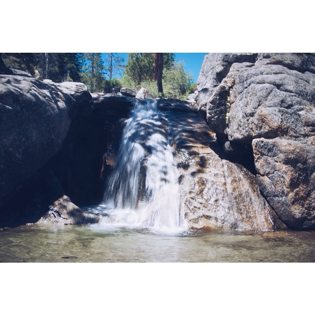 Chasing Waterfalls // Shirley Canyon, @squawvalley // #tahoemade #thisistahoe