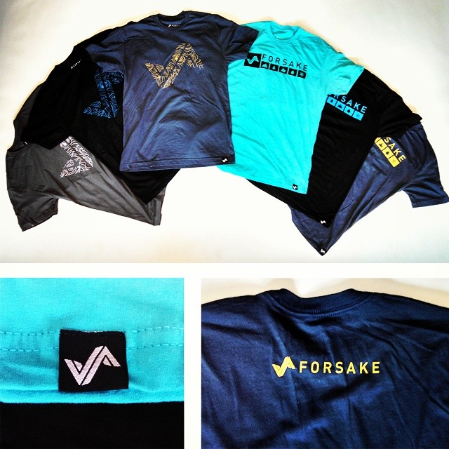 New threads are live and available on Forsake.com! Get yours  #adventureworthy