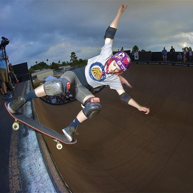 @karenjonz, #EXPOSURE2013. #skateboarding #skateboard #skate #skatelife #skatevert #vert #skatergirl #brazil