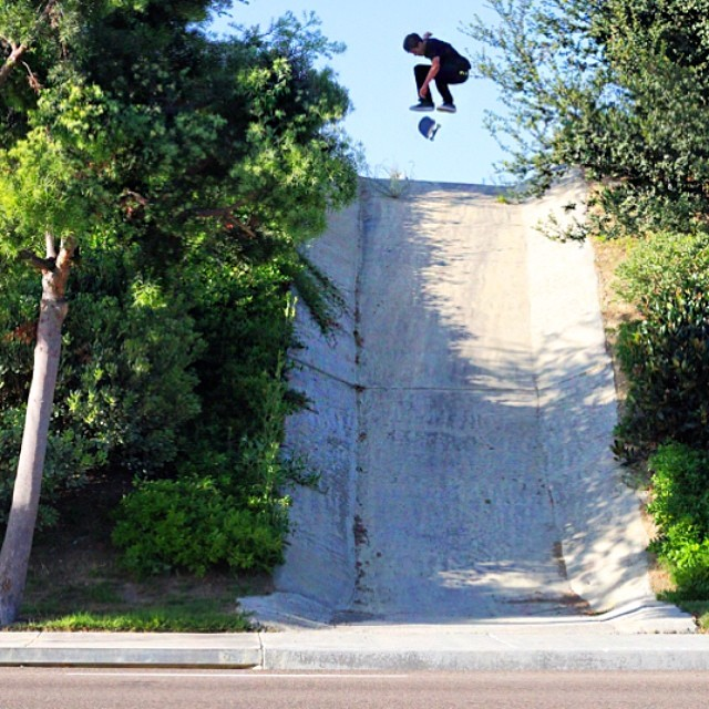 Here's a nice #kickflip from @waylonhendricks who is also our California sales rep! Hit him up for all your RAMSHAKLE needs! You can also have a chat with him if your attending AGENDA trade shows this Thursday / Friday in long beach