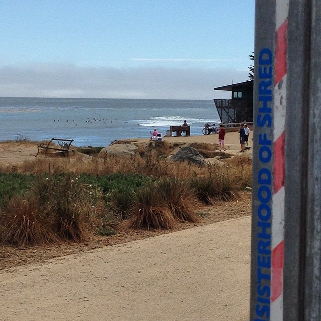 #Surf check at #PleasurePoint! #surfing #SantaCruz #summerofshred