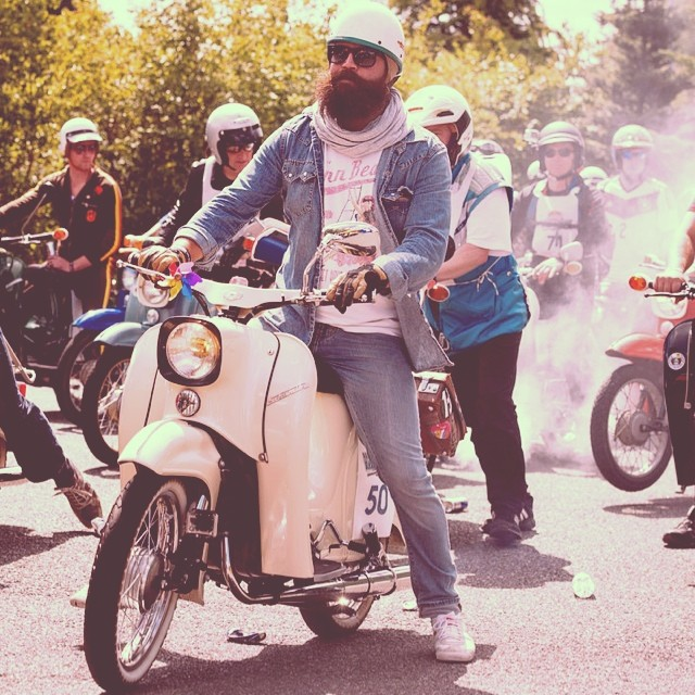 Born to be mild. #redbullvogelfrei #simson #scooters