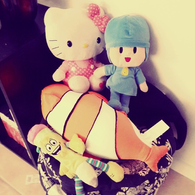 #HelloKitty #PocoYo #lovepic #toys #toystory #child #home #cute #nice