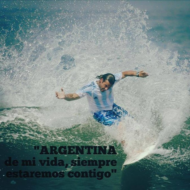 Cueste lo que cueste, vamos ARGENTINA!!! #FifaWorldCup #ReefArgentina  @mpasseri1