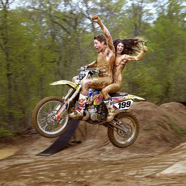 Life is short. Party #naked.  @ESPNmag #ESPNbody @travispastrana