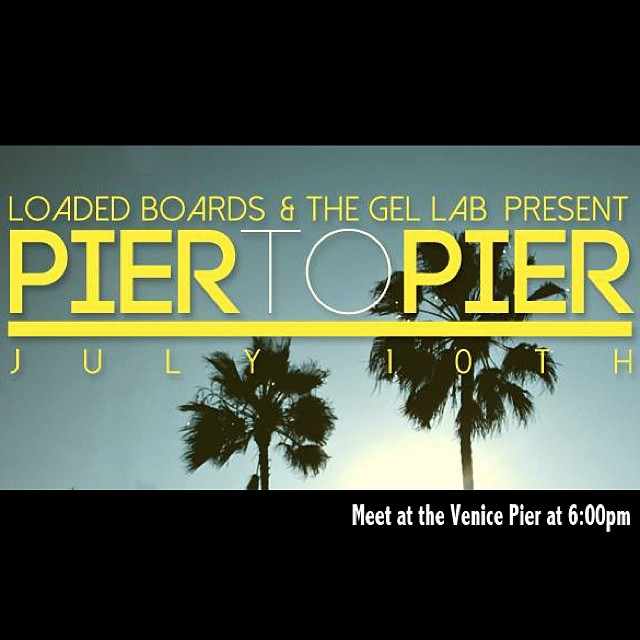 Join us tomorrow at the Venice Pier to skate to the Santa Monica Pier for the FREE @santamonicapier #twilightconcert