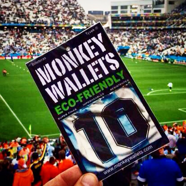 #monkeywallets #argenina #holanda #fifa2014 #copadomundo #messi #wallet @monkeywallets