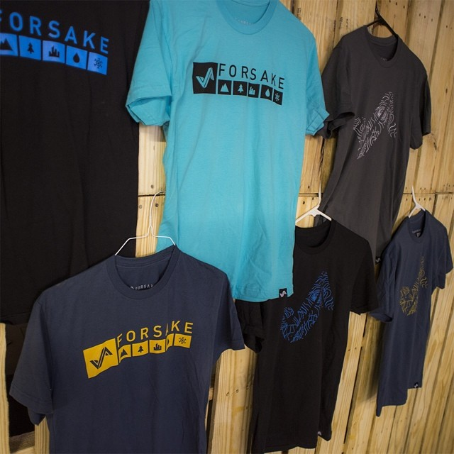 Be sure to check out the new Forsake threads if you haven't yet at shop.forsake.com! #getoutthere
