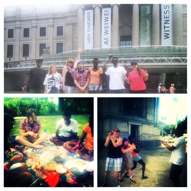 Today the STOKED team had a team building day! Kat, our program manager in Los Angeles joined us for a visit to the Brooklyn Museum, some team games, a picnic in the park, and a boat ride around the city. Teamwork makes the dream work! Using our...