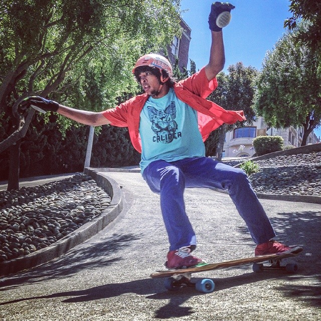 AFTB enjoying a sunny Norcal day with a secret driveway session somewhere in San Francisco