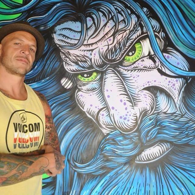 Martín Varbaro @mvarbaro Feature Artist Argentino! Conoce más de  él www.martinvarbaro.com #featuredartist #Art #Volcom #surf #pasión