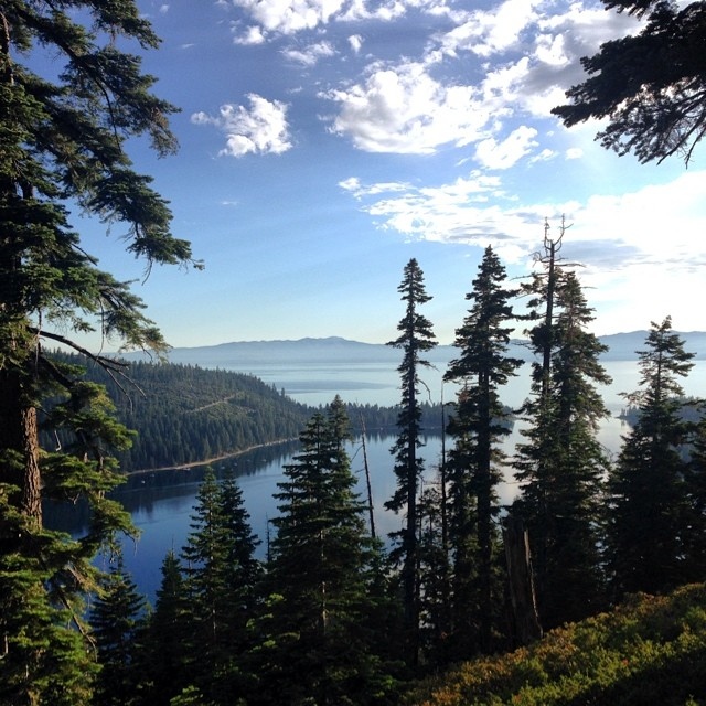 #CoalitionSnow encourages you to get outside today! Winter is just around the corner, so go out and enjoy this beautiful weather! #hike #emeraldbay #laketahoe #summerofshred #summerdays #livewhereyoulove