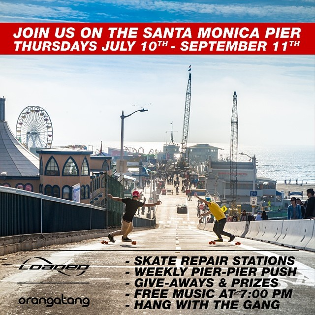 Join us TONIGHT at the @santamonicapier for the FREE #TwilightConcerts.