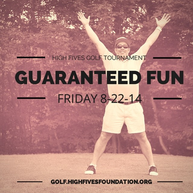Register your team TODAY For the 2nd Annual High Fives East Coast Charity Golf Tournament || August 22 at @sugarbush_vt Golf Club || Guaranteed FUN! golf.highfivesfoundation.org #highfivesgolf