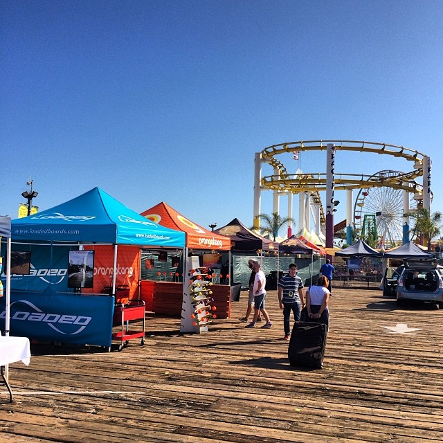 Come find us on the @santamonicapier to say hey and enjoy the FREE concert!