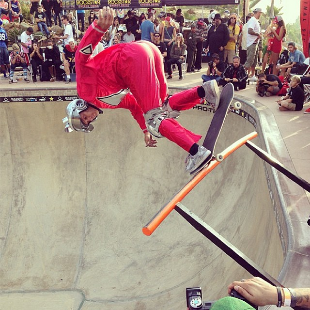 Via @jrobert33: Show em how it's done Mork! @buckylasek #skatesuedes #boobq2013