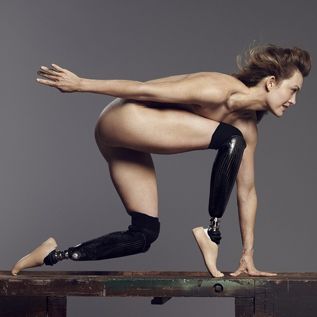 Paralympic snowboarder & Dancing with the Stars contestant, @amypurdygurl in the @ESPNMag #ESPNBody issue.  Photo: @PaolaKudacki