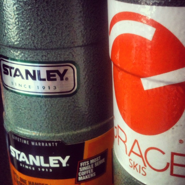 Two great products. This @stanley_brand is perfect